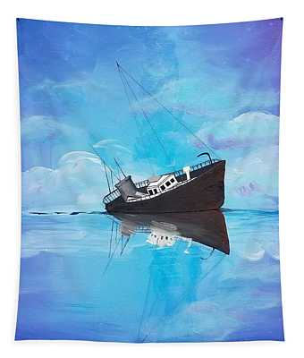 Sinking Ship  Tapestry