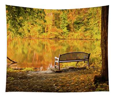 Sit Awhile Tapestry