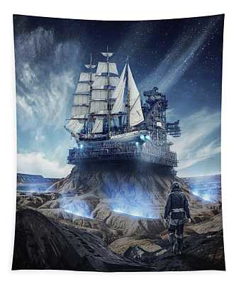 Spaceship Tapestry