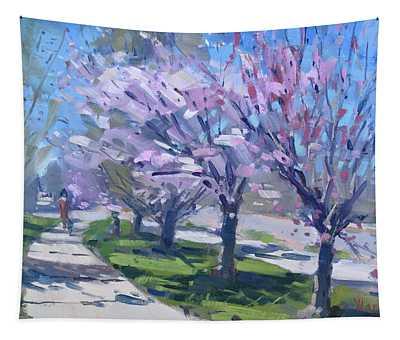 Spring Blossom Tapestry