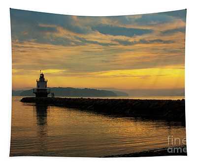 Spring Point Ledge Lighthouse Tapestry