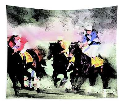Steeple Chase Colors Tapestry