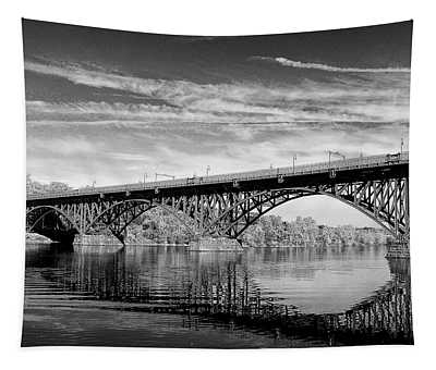 Strawberry Mansion Bridge Tapestry