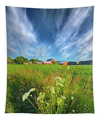 Summer Dreams Drifting Away Tapestry