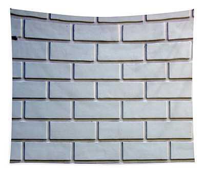 Texture Of Natural Stone Material And Brick Masonry Walls Tapestry
