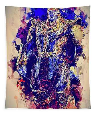 Thanos Watercolor Tapestry