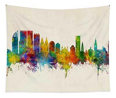 The Hague Netherlands Skyline Tapestry