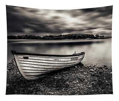 The Lone Boat Tapestry