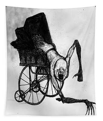 The Nightmare Carriage - Artwork Tapestry