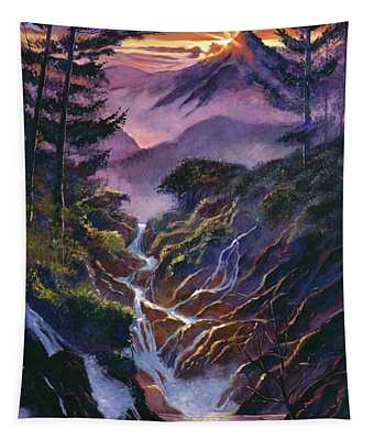 Waterfall Serenade Tapestry