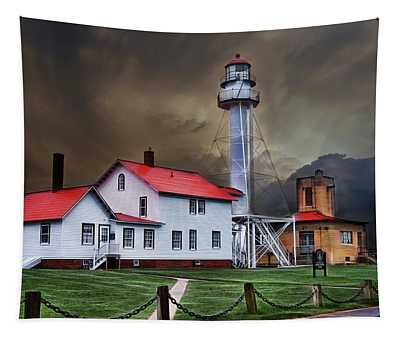 Whitefish Point Lighthouse Tapestry