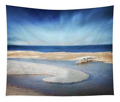 Whitefish Point Michigan Tapestry