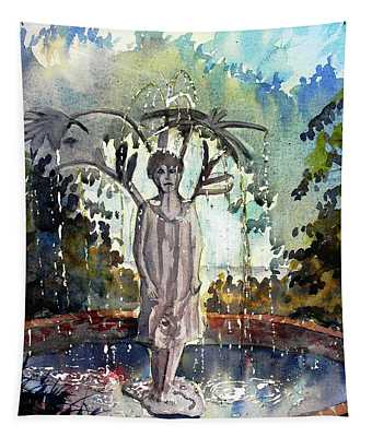 Why Does It Always Rain On Me Tapestry