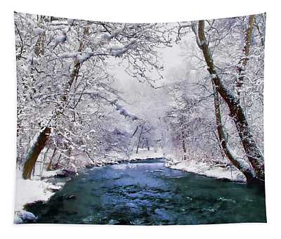 Winter White Tapestry