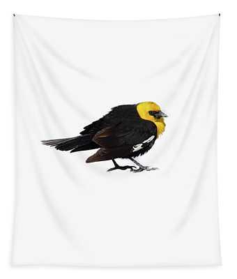Yellow Headed Blackbird   Tapestry