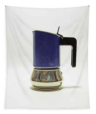 10-05-19 Studio. Blue Cafetiere Tapestry