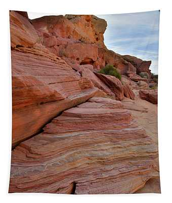 Bands Of Color In Valley Of Fire Tapestry
