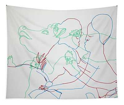Kintu And Nambi Tapestry
