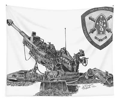 10th Marines 777 Tapestry