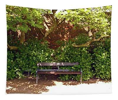 11/05/19 Chorley. Astley Hall. Walled Garden. Sunlit Bench. Tapestry