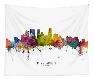 Designs Similar to Minneapolis Minnesota Skyline
