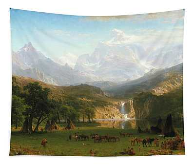The Rocky Mountains, Lander's Peak Tapestry