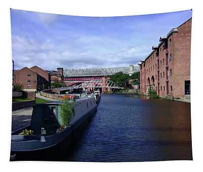 13/09/18  Manchester. Castlefields. The Bridgewater Canal. Tapestry