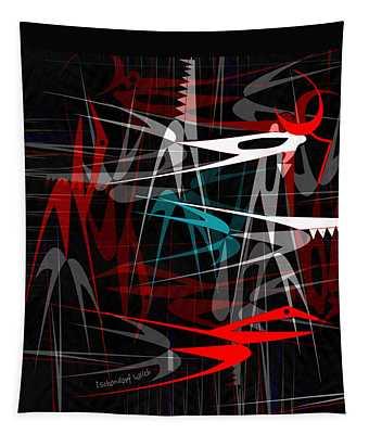 1539 Danger Machines 2018 Tapestry
