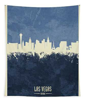 Las Vegas Nevada Skyline Tapestry