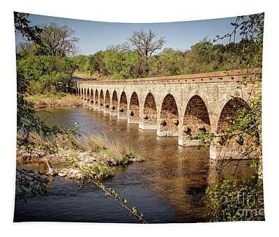 17 Arch Limestone Bridge Tapestry