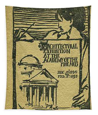 1894-95 Catalogue Of The Architectural Exhibition At The Pennsylvania Academy Of The Fine Arts Tapestry