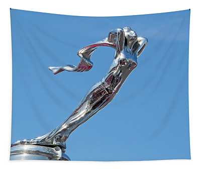 1928 Lasalle Automobile Hood Ornament Tapestry