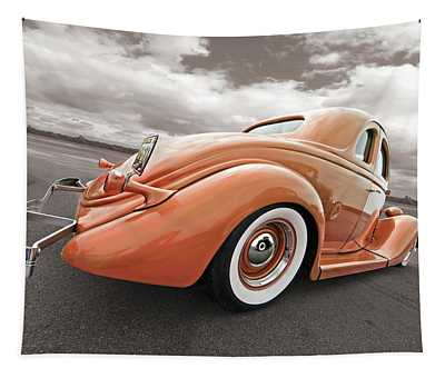1935 Ford Coupe In Bronze Tapestry