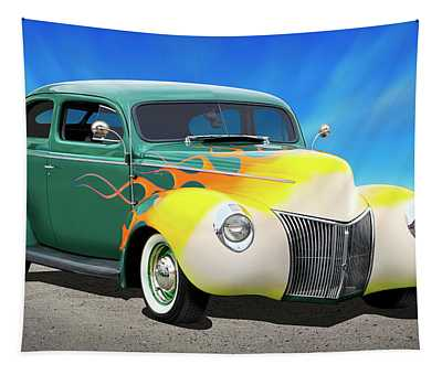 1940 Ford Coupe Tapestry