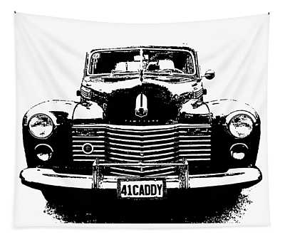 1941 Cadillac Front Blk Tapestry