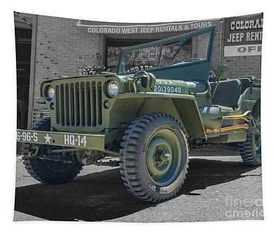 1942 Willys Gpw Tapestry