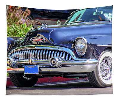 1953 Buick Skylark - Chrome And Grill Tapestry