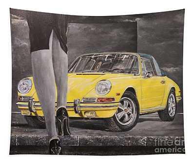1968 Porsche 911 Targa Tapestry