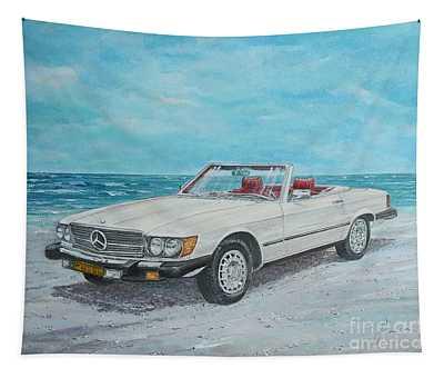 1979 Mercedes 450 Sl Tapestry
