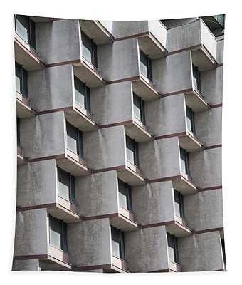 Brutalist Architecture Tapestry