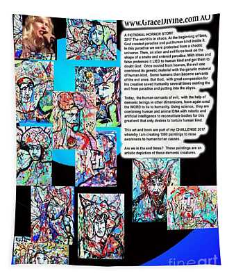 Chimera Ai Anime Manga Hell Monsters By Grace Divine                                 Tapestry