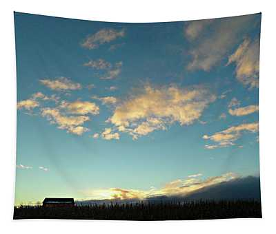 Colossal Country Clouds Tapestry