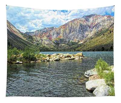 Convict Lake Marina Tapestry