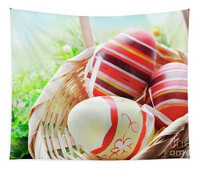 Easter Eggs Tapestry