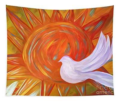Healing Wings Tapestry