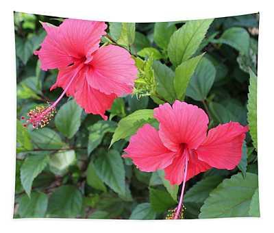 2 Hibiscus Tapestry
