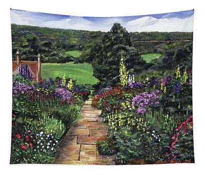 Impressions Of England Tapestry