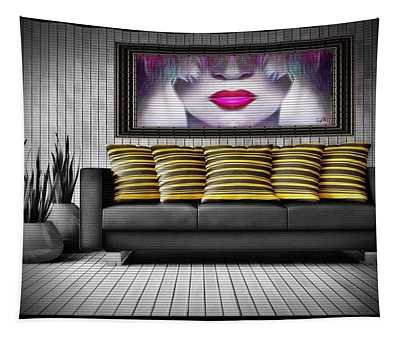 Lady Fashion Beauty Tapestry