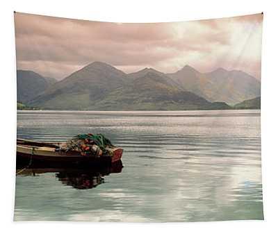 Lake Duich Highlands Scotland  Tapestry