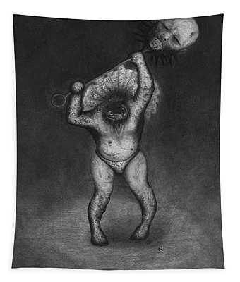 Nightmare Rattler - Artwork Tapestry